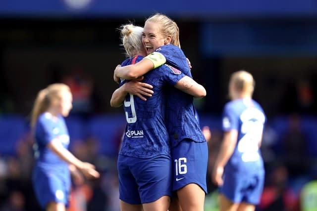 Just over 24,500 fans watched Chelsea get off to a winning start to their campaign against Spurs, with Bethany England scoring in a 1-0 victory (John Walton/PA)