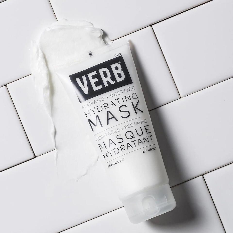 """<p><strong> The Product: </strong> <span>Verb Hydrating Mask </span> ($16)</p> <p><strong> The Rating: </strong> 4.5 stars </p> <p><strong> Why Customers Love It: </strong> This vegan and cruelty-free choice is ideal for those with tangled or frizzy hair. This reviewer loved its affordable price and high-quality results: """"This product made my heat and color damaged hair soft and shiny after one use. It feels thick and rich, like a facial mask, but it did not weigh down my very fine hair. Plus, it smells great too and it's reasonably priced.""""</p>"""