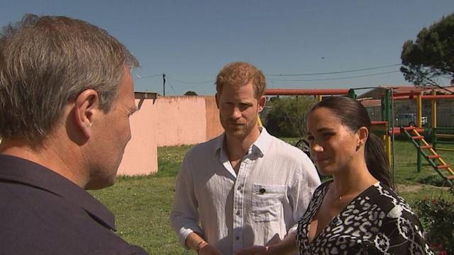 'You have no idea': Prince Harry, Meghan on their struggle living in the spotlight (ABC News)