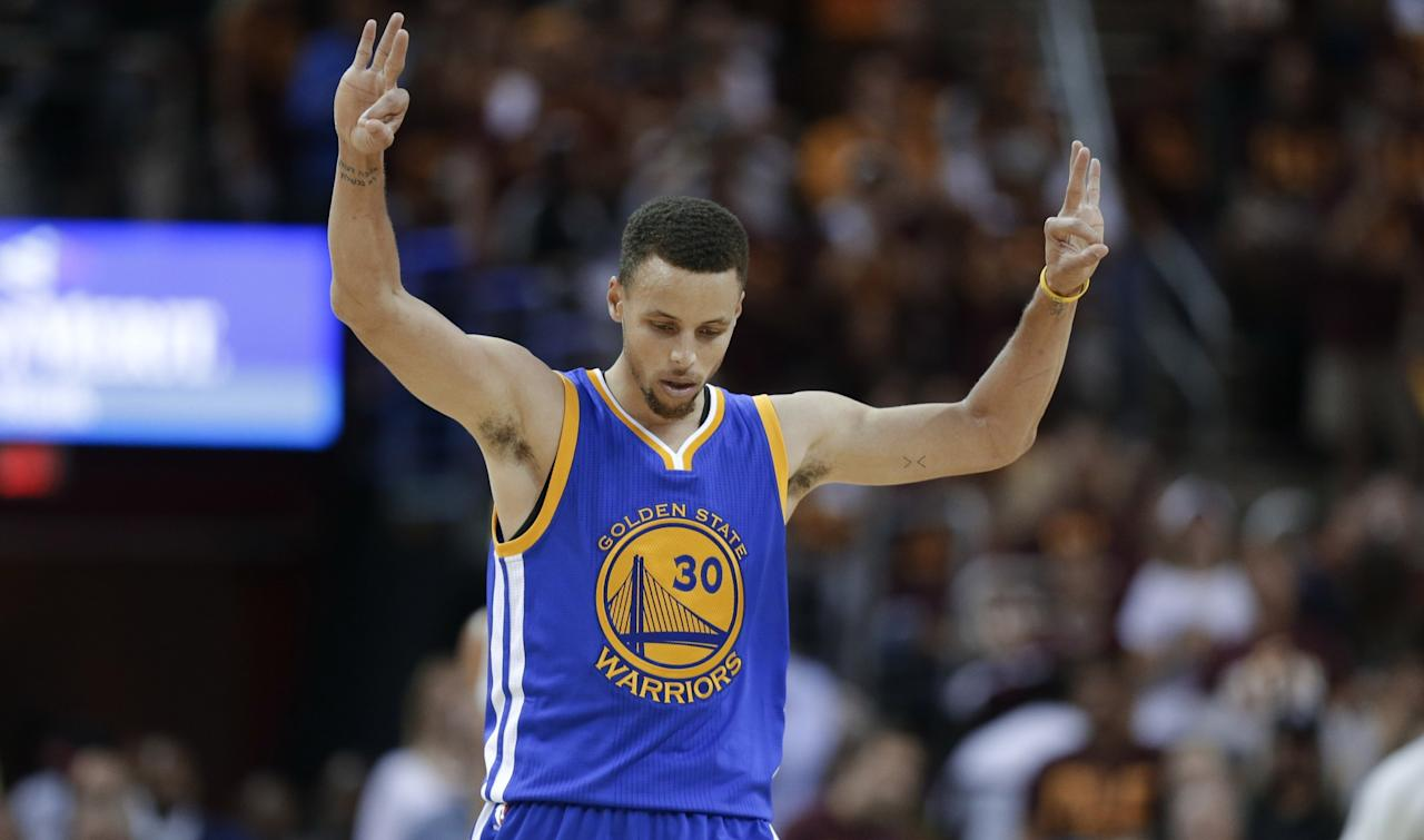 <p>To be clear on this one, this record is unreachable for any other human being. It's entirely possible that Curry himself could break his own record down the line, but for now his 2015-16 season total of 402 made 3-pointers is so ridiculous that no other player in NBA history has even reached 300 in a single season. Remarkably, the most threes made in a single season by anyone other than Curry happened that same season and on the same team. Fellow Golden State Warrior Klay Thompson knocked down 276 that year. So yes, Curry is more than 100 clear of his closest challenger. </p>