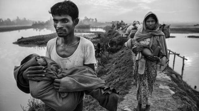 """Myanmar's brutal and internationally-condemned purge of Rohingya Muslims amounts to """"dehumanizing apartheid,"""" Amnesty International said in a scathing report released on Tuesday."""