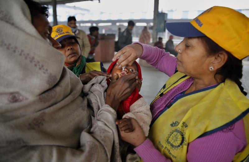 India marks 3 years since last polio case reported