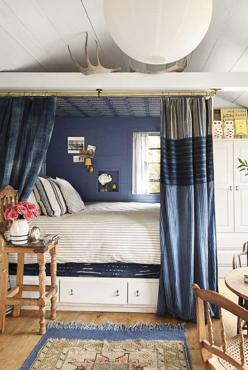 <p>If you're partial to coastal-inspired decor, experiment with a cozy captain's bed. It's an ideal and stylish spot to store your belongings without taking up much-needed space. </p>