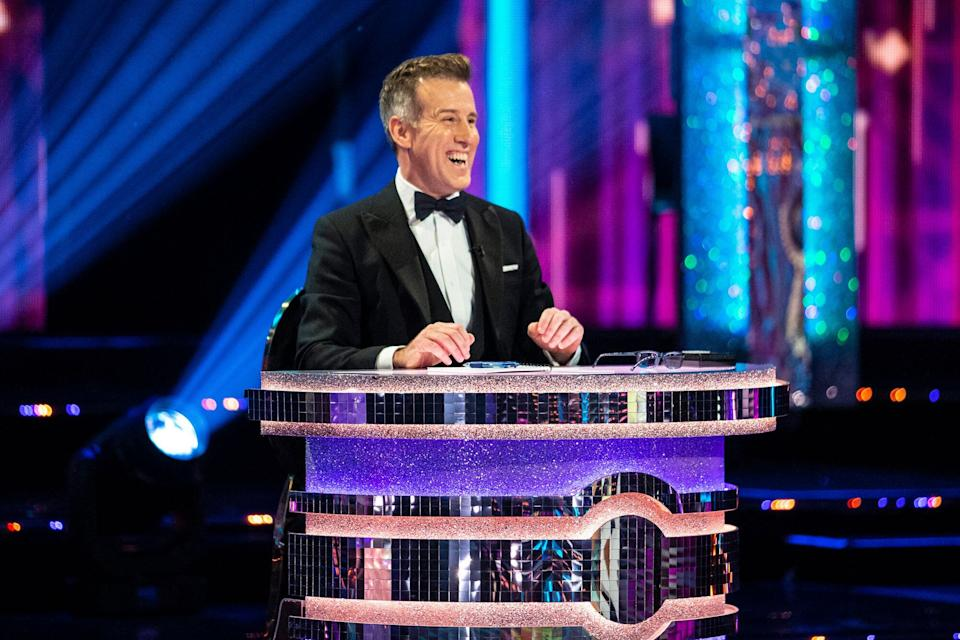 Anton Du Beke made his judging debut earlier in the series (Photo: BBC / Guy Levy)