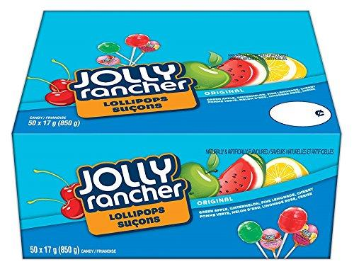 JOLLY RANCHER Candy Lollipops Assortment