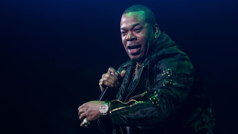 Busta Rhymes performs on stage during 105.1�s Powerhouse 2017 at the Barclays Center on October 26, 2017 in the Brooklyn, New York City City (Photo by Steven Ferdman/SIPA)
