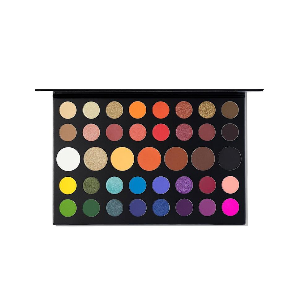 """""""I'm a unicorn at heart, and this palette has the most vibrant pigments, giving you a pop of color during the dreariest of days. There are also neutrals on those days you're not feeling extra. Since its launch, it's been my go-to palette."""""""