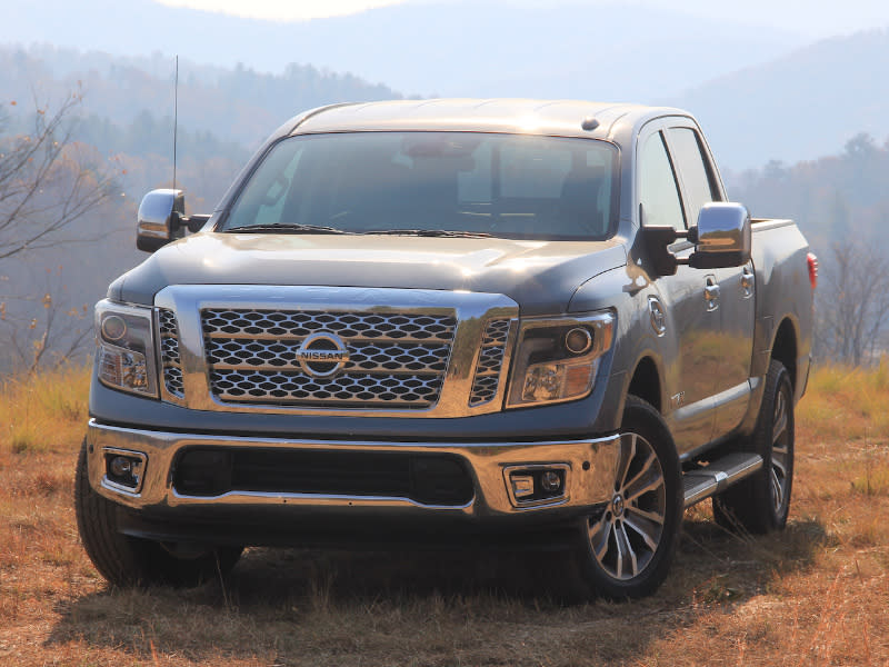 The 2017 Nissan An V8 4x4 Can Handle Pretty Much Anything You Throw Its Way