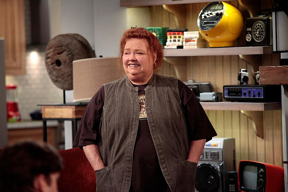 "Conchata Ferrell appears on ""Two and a Half Men."" (Photo: Cliff Lipson/CBS via Getty Images)"
