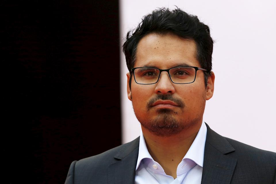 """Actor Michael Pena arrives for the European premiere of """"Ant-Man"""" at Leicester Square in London, Britain July 8, 2015. REUTERS/Luke MacGregor"""