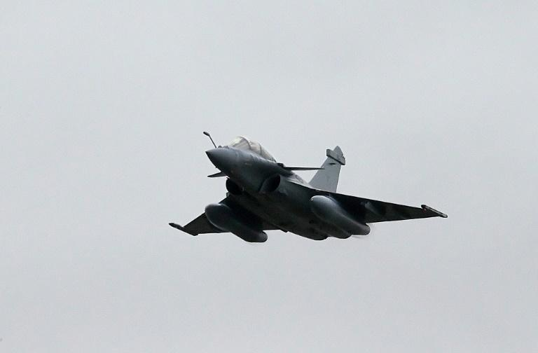 The Dassault Rafale fighter is in service in the French Air Force