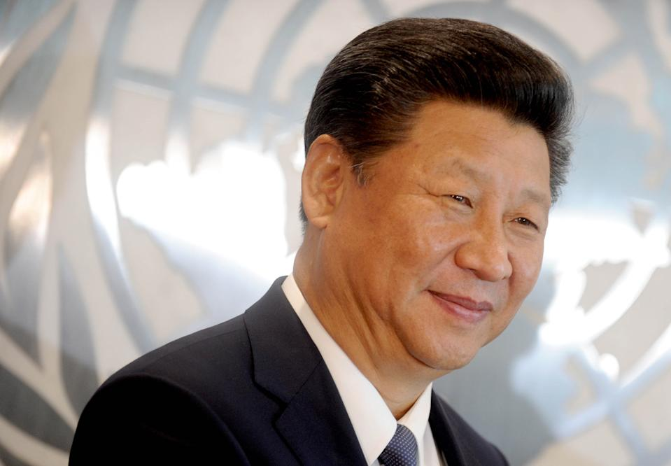 Photo by: Dennis Van Tine/STAR MAX/IPx 9/29/15 The Secretary-General with H.E. Mr. Xi Jinping, President, People's Republic of China.