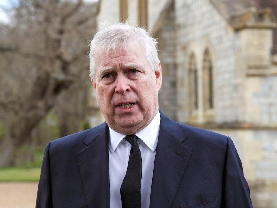 Prince Andrew has been engaged in a lengthy legal tussle over how and whether Virginia Roberts Giuffre's lawsuit has been properly served on him  (Steve Parsons/PA)
