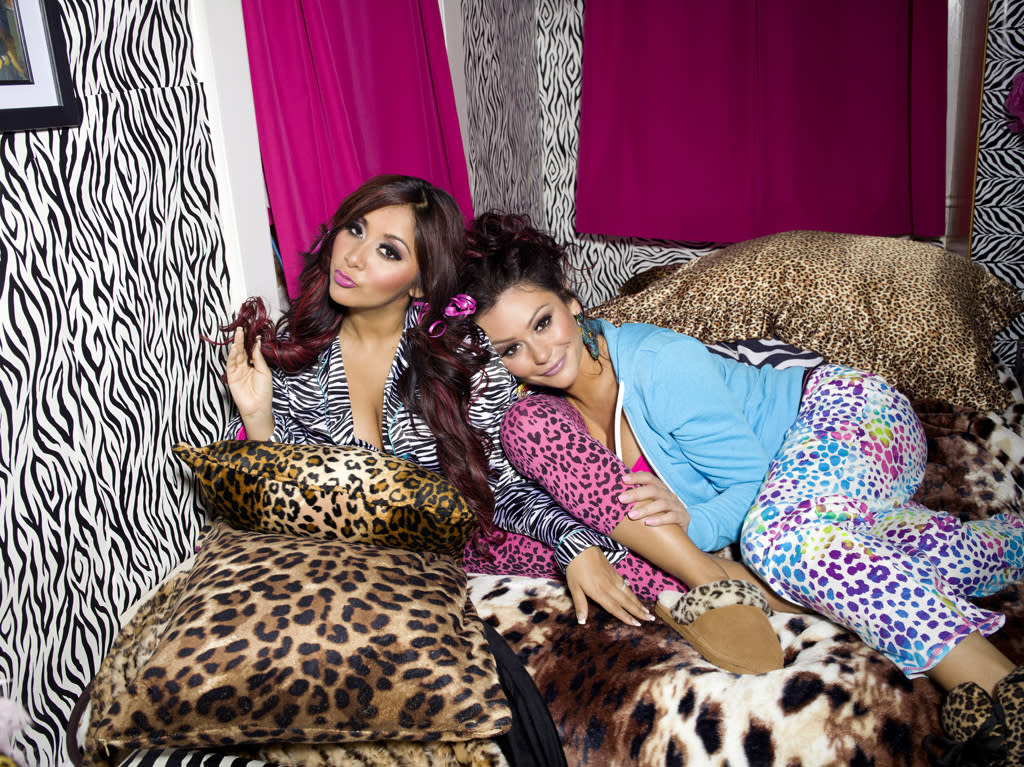 "On Thursday night, fans of ""Jersey Shore""  will have Nicole ""Snooki"" Polizzi and Jenni ""JWoww"" Farley back in  their lives as their new spin-off series debuts on MTV. The two  real-life BFFs move in together to take on their next big adventure:  Adulthood!<br><br>Before you check out the premiere of ""Snooki & JWoww,"" we  thought you might like to see exclusive photos of the besties' digs at  38 Mercer Street in Jersey City, New Jersey."