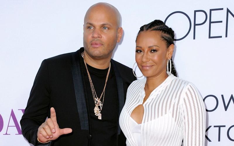 In her new autobiography, Melanie Brown claims she suffered abuse and financial loss during her marriage to ex-husband Stephen Belafonte. - Invision