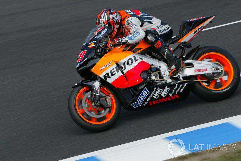 "Nicky Hayden, Repsol Honda Team, 2003<span class=""copyright"">Gold and Goose / Motorsport Images</span>"