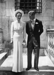 On their wedding day in 1937