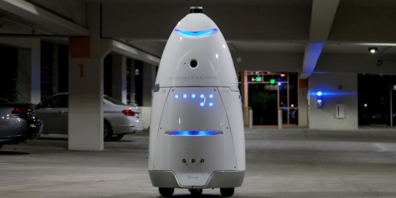 Look out mall cops — this 300 pound security robot might be your replacement