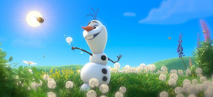 Josh Gad is voice of Olaf in 'Frozen'