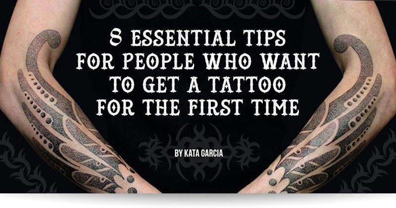 8 essential tips for people who want to get a tattoo for the first time. Black Bedroom Furniture Sets. Home Design Ideas