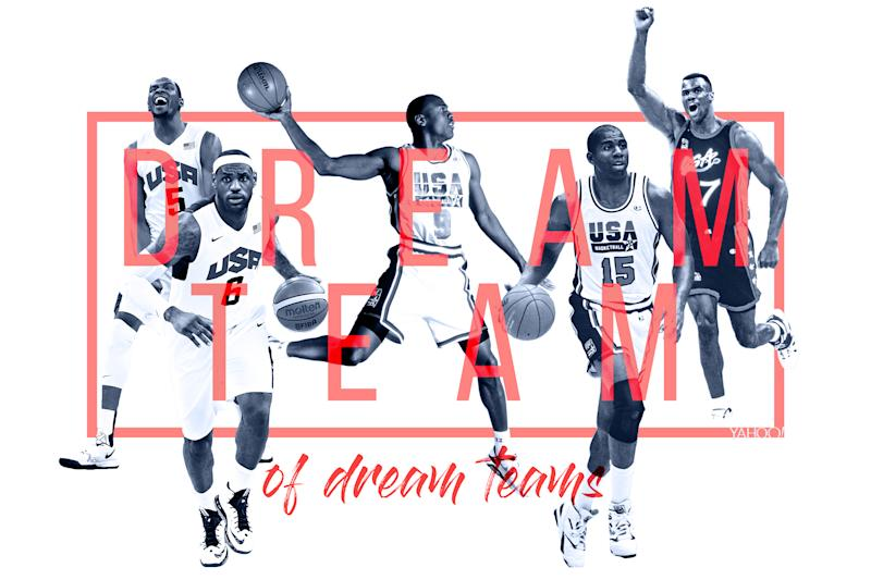 separation shoes 67108 6e363 The ultimate dream  Picking the best team from 25 years of Dream Teams