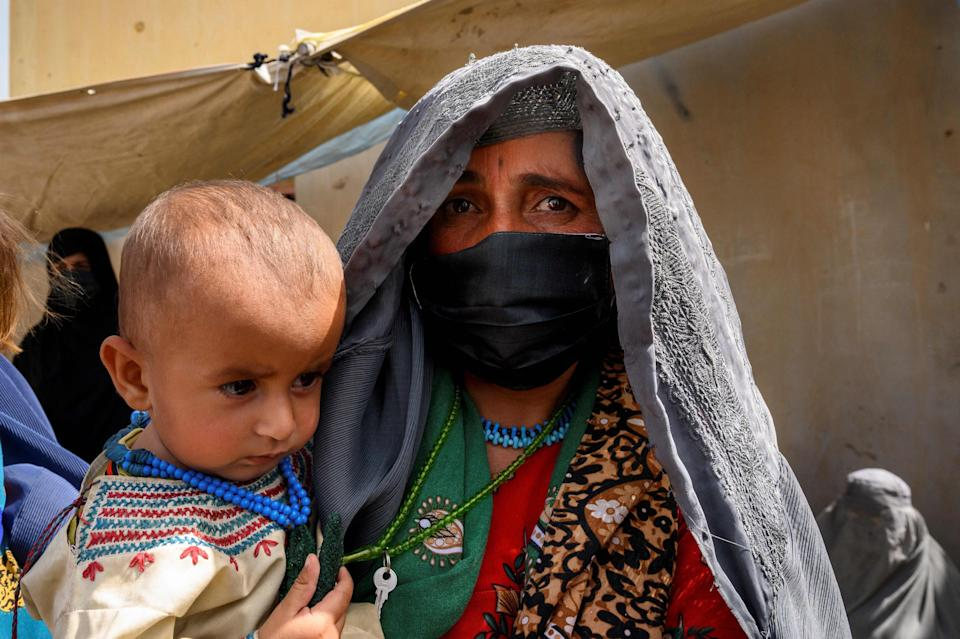 Civilians have no choice but to flee Helmand province and its capital city Lashkar Gah (AFP via Getty Images)