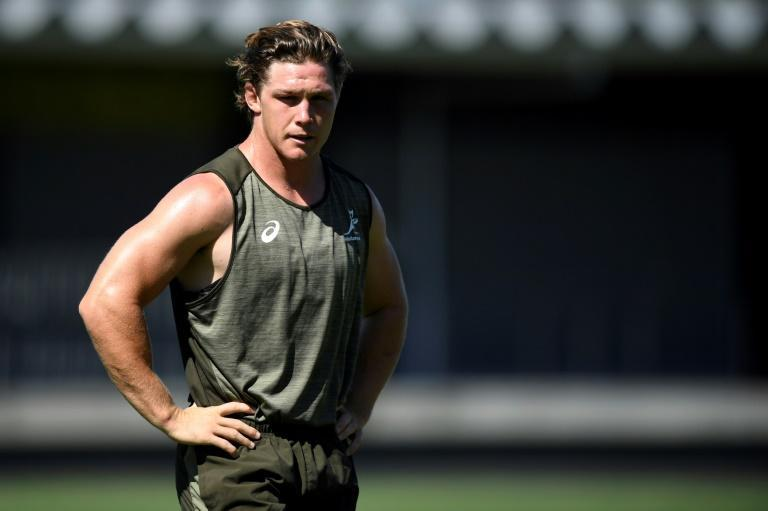 Australia's Michael Hooper, pictured here in December 2020, moved to Japan to begin a six-month stint with Toyota