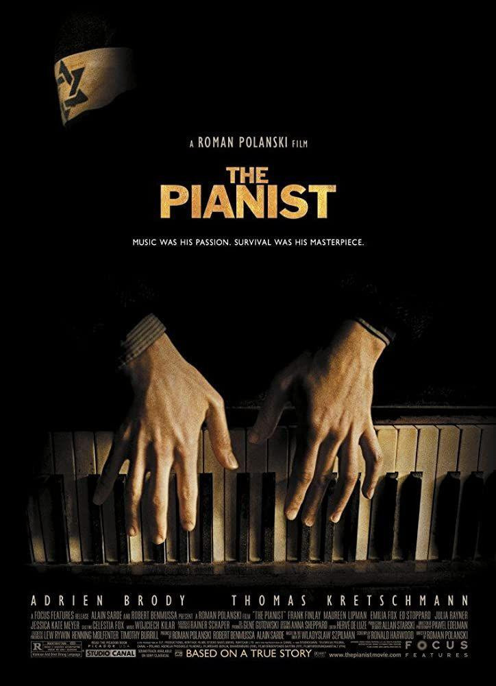 """<p>World-class Jewish musician Wladyslaw Szpilman (Adrien Brody) lives in Poland and is forced into the Warsaw ghetto during the Holocaust. It's a story of resilience and human will, and doesn't shy away from the violent, horrifying details.</p><p><a class=""""link rapid-noclick-resp"""" href=""""https://www.netflix.com/title/60025061"""" rel=""""nofollow noopener"""" target=""""_blank"""" data-ylk=""""slk:Watch Here"""">Watch Here</a></p>"""