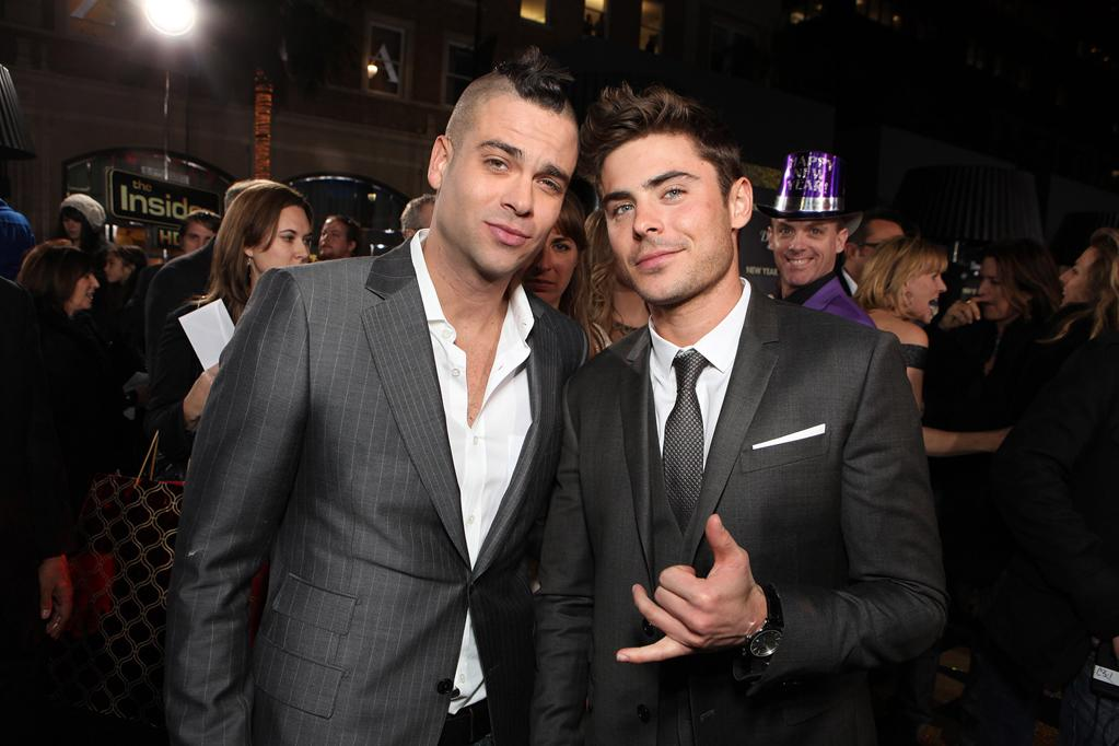 """<a href=""""http://movies.yahoo.com/movie/contributor/1810220513"""">Mark Salling</a> and <a href=""""http://movies.yahoo.com/movie/contributor/1808543881"""">Zac Efron</a> at the Los Angeles premiere of <a href=""""http://movies.yahoo.com/movie/1810219047/info"""">New Year's Eve</a> on December 5, 2011."""