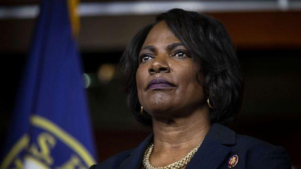 PHOTO: File photo of Rep. Val Demings at a news conference on Capitol Hill in Washington on Jan. 15, 2020. (Al Drago/Bloomberg via Getty Images)