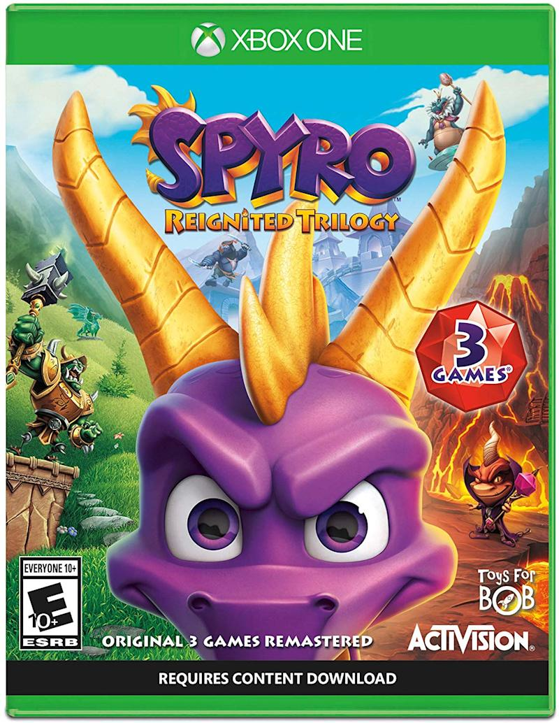 Spyro The Dragon is back and now in HD for Xbox One. (Photo: Amazon)
