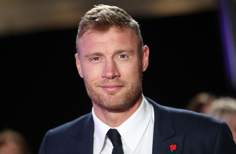 "Andrew ""Freddie"" Flintoff during the Pride Of Britain Awards 2018, in partnership with TSB, honouring the nation's unsung heroes and recognising the amazing achievements of ordinary people, held at the Grosvenor House Hotel, London. (Photo by Steve Parsons/PA Images via Getty Images)"