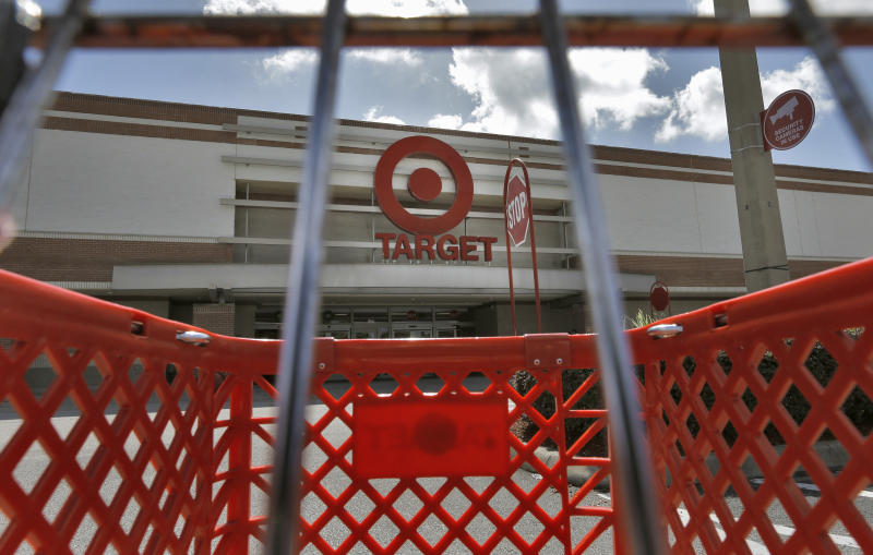 In this Monday, Aug. 19, 2013 photo, the Target store in Riverview, Fla., is shown. Target Corp. reports second quarter financial results Wednesday, Aug. 21, 2013. (AP Photo/Chris O'Meara)