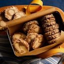 <p>Slice-and-bake icebox cookies are the ultimate make-ahead treat. You can make a batch and bake as many as you like, saving the rest of the dough in the freezer. These simple swirled cookies are rolled in finely chopped pecans. They're mildly sweet—perfect for after dinner or paired with coffee.</p>