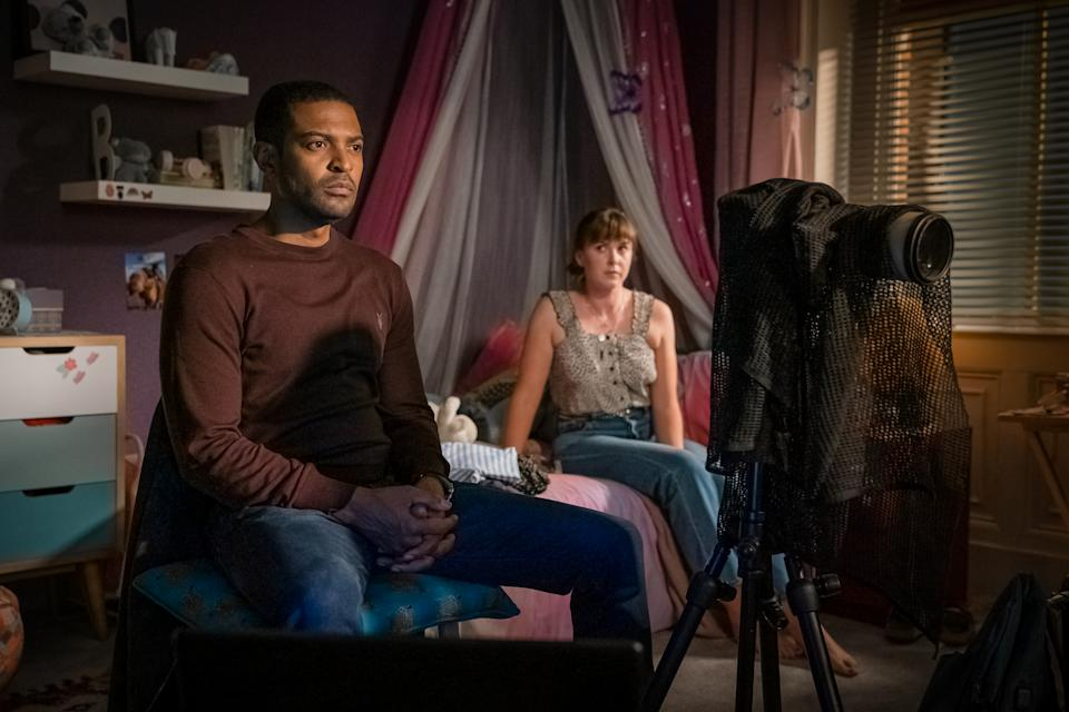 Noel Clarke and Alexandra Roach star in Viewpoint. (Ben Blackall / © Tiger Aspect Productions)