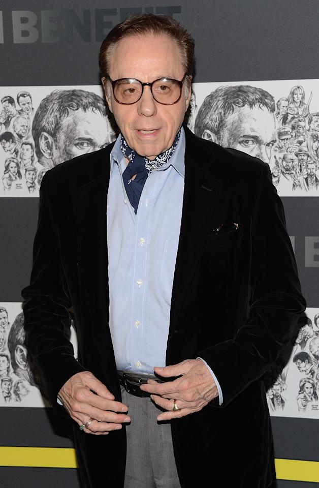 NEW YORK, NY - DECEMBER 03:  Peter Bogdanovich attends The Museum of Modern Art Film Benefit Honoring Quentin Tarantino at MOMA on December 3, 2012 in New York City.  (Photo by Andrew H. Walker/Getty Images)