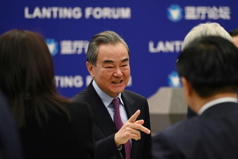 Chinese Foreign Minister Wang Yi says allegations of genocide are preposterous
