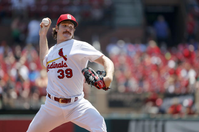Bring the mustache back, Miles Mikolas. (AP)