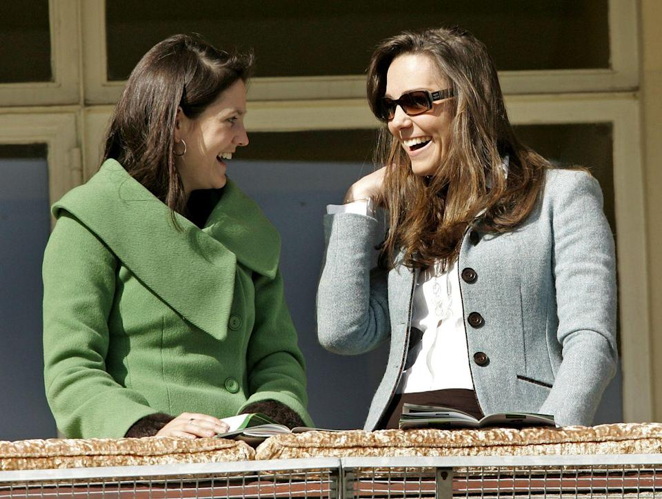 <p>Attending the fourth day of the Cheltenham Festival Race Meeting.<br></p>