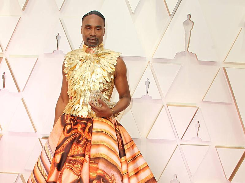 Giles Deacon inspired by Kensington Palace when creating Billy Porter's Oscars outfit