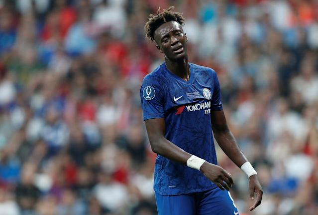 Tammy Abraham also received racist abuse (Photo by REUTERS/Murad Sezer)