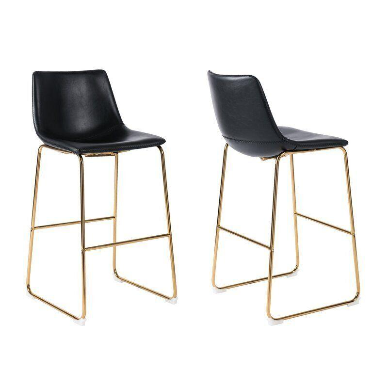 "Find this Truesdell Bar Stool (Set of 2) <a href=""https://fave.co/2G2080W"" target=""_blank"" rel=""noopener noreferrer"">on sale for $230 (normally $290) at Wayfair.</a>"