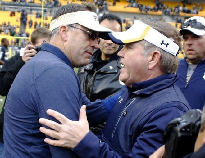 Notre Dame-Pittsburgh Countdown: 10 To 1