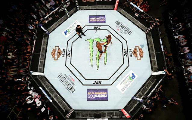 The UFC donated $1 million to the victims of the Las Vegas mass shooting earlier this week.. (Getty file photo)