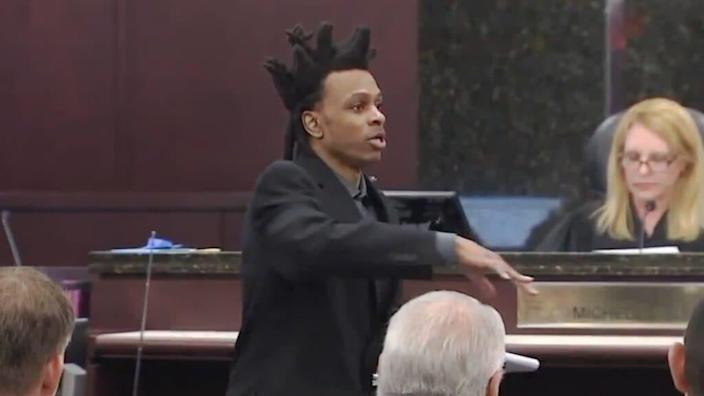Ronnie Oneal III, who went viral for his fiery opening statements while acting as his own defense attorney, has been found guilty of murdering his daughter and her mother and for the attempted murder of his son. (WFLA)