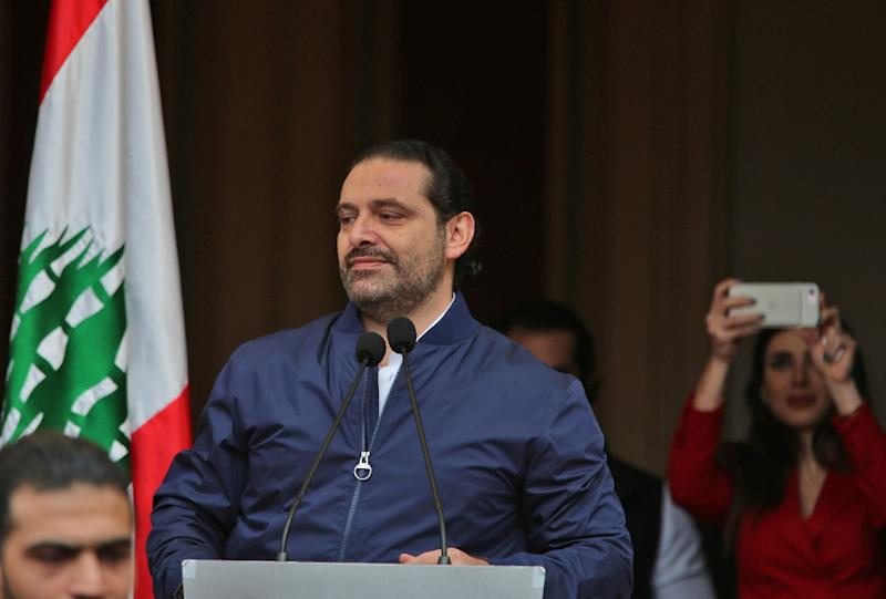 Saad Hariri's resignation caught Lebanon and outside countries by surprise, and was seen as a direct result of the escalating power struggle between Riyadh and Tehran that has seen them square off from Syria to Yemen (AFP Photo/STR)