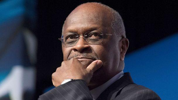 PHOTO: In this June 20, 2014, file photo, Herman Cain speaks during Faith and Freedom Coalition's Road to Majority event in Washington. (Molly Riley/AP, FILE)