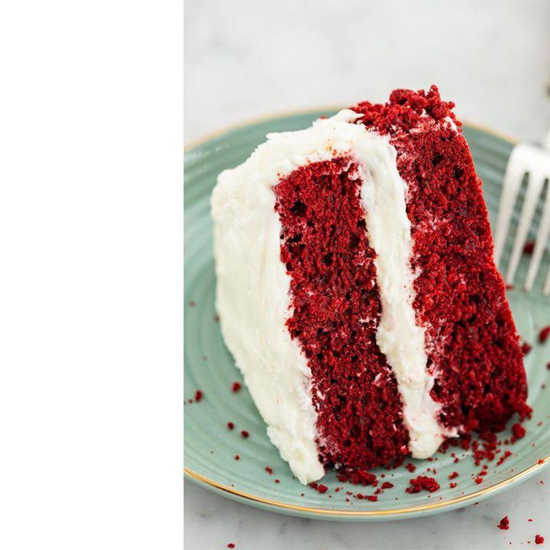 """<p>You can't go wrong with a vibrant slice of this classic cake. </p><p><em><strong>Get the recipe from <a href=""""https://www.delish.com/cooking/recipe-ideas/recipes/a58093/best-red-velvet-cake-recipe/"""" rel=""""nofollow noopener"""" target=""""_blank"""" data-ylk=""""slk:Delish"""" class=""""link rapid-noclick-resp"""">Delish</a>.</strong></em></p>"""
