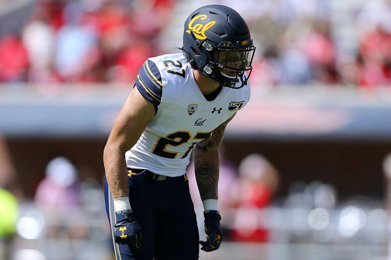 California's rangy safety, Ashtyn Davis, has been impressive this season. (Getty Images)