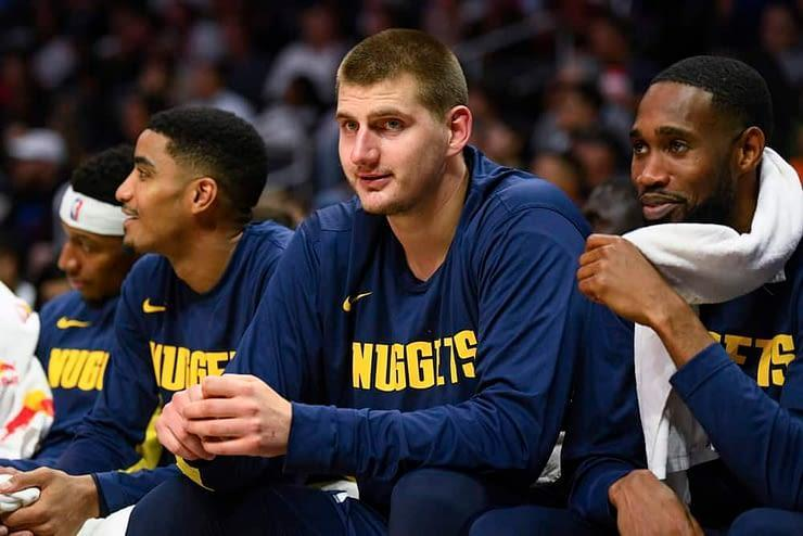 EMac gives his favorite NBA DFS picks for Yahoo + DraftKings + FanDuel daily fantasy basketball lineups including Nikola Jokic for Monday 2/1